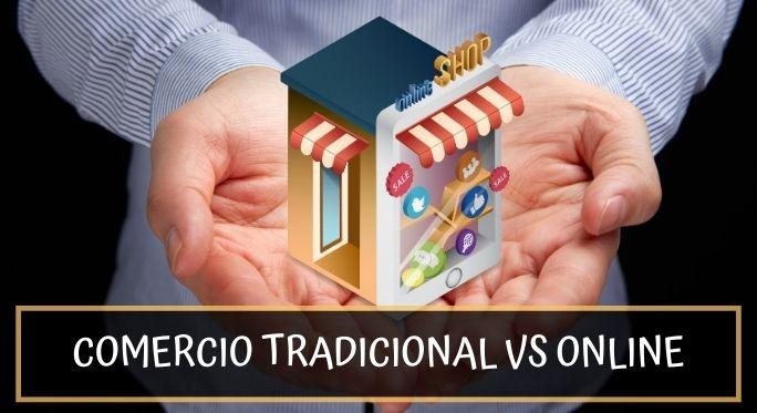 comercio tradicional vs comercio electrónico