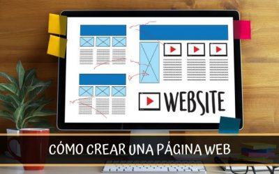 Cómo crear una página web profesional desde cero en 4 sencillos pasos