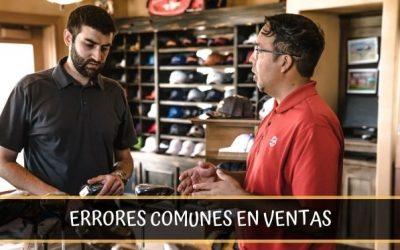 4 Errores de comportamiento que cometen los vendedores en negocios minoristas