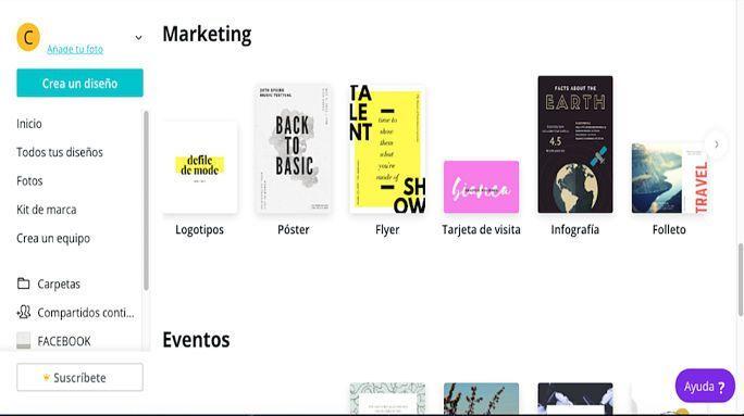 como hacer un cartel publicitario online