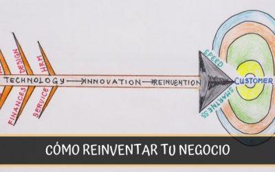 Cómo reinventar un negocio en tiempos de crisis y prepararse para el futuro
